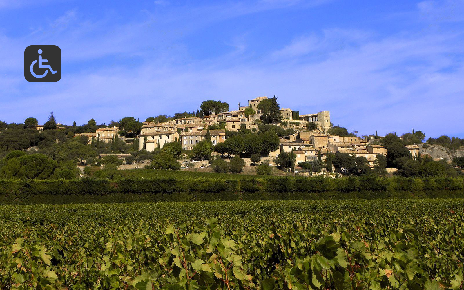 The village of Joucas in the Luberon
